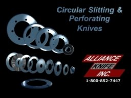 Circular Slitting & Perforating